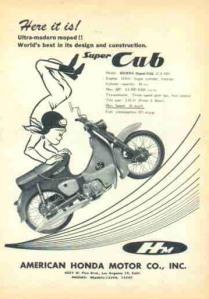 Honda Supercub Ad