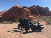 Jared Burt and David Barr - Harley Davidson Road Glide / Street Glide